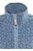Fjällräven Övik - Sudadera con capucha Mujer - azul